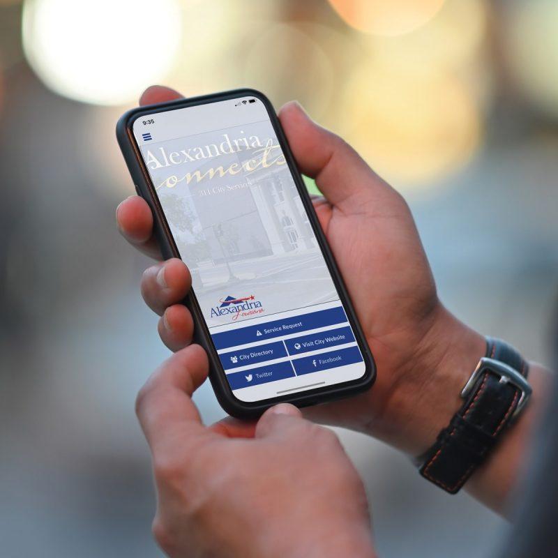Alexandria Connects App - City of Alexandria, La - Cenla Ready